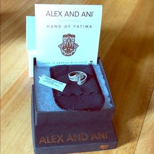 Alex and Ani -Hand of Fatima Ring